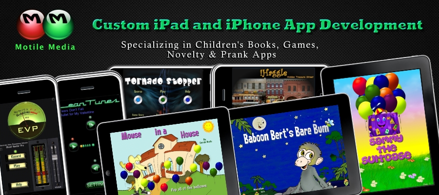 iPad Children's Book Developer